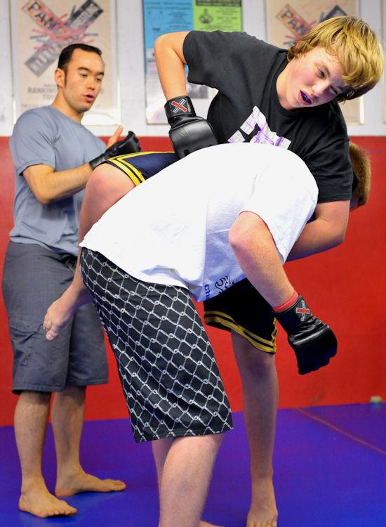 Teen Mma Training 61